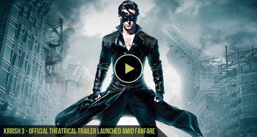 CGfrog: Krrish 3 - Official Theatrical Trailer launched ...