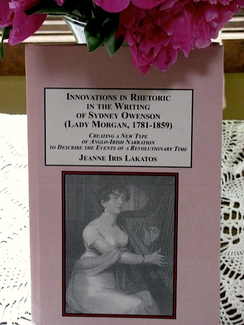 My Book on Sydney Owenson (Lady Morgan)