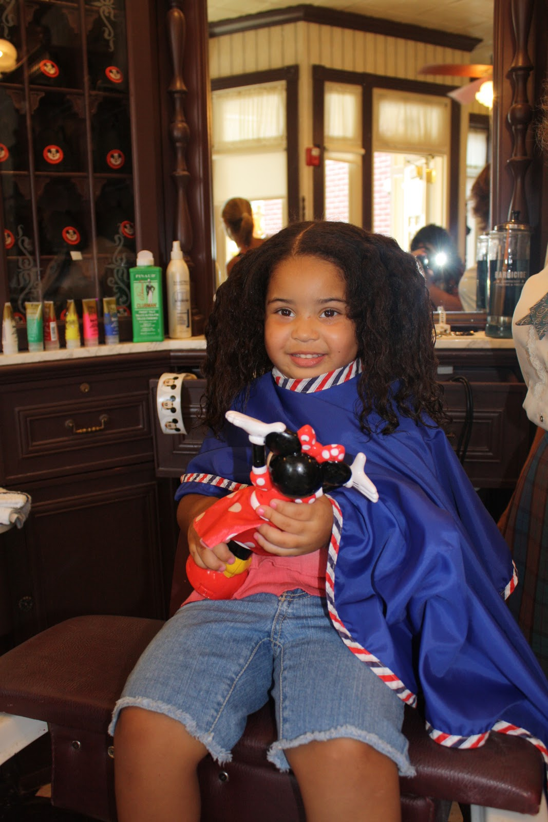 Mommyhood With No Blueprint As First Haircut Done At Disney World
