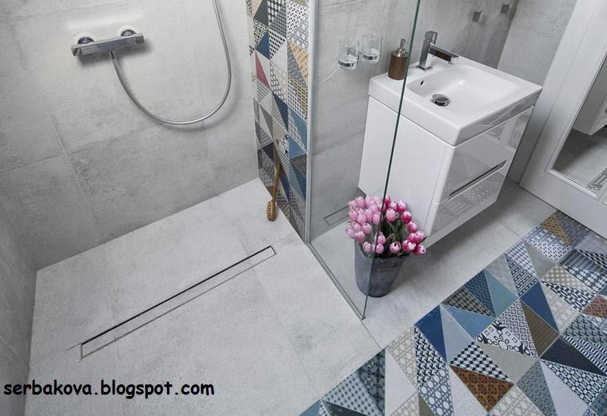 Пэчворк плитка ванна