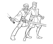 #3 Anakin Skywalker Coloring Page