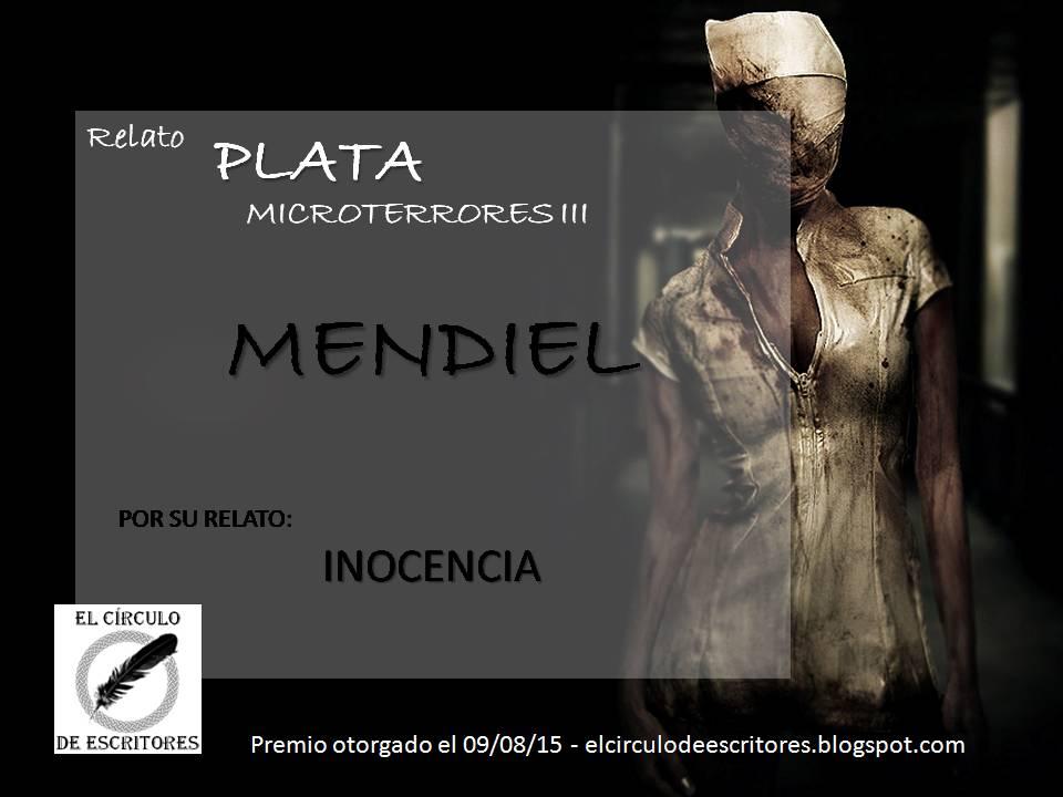 """Premio Plata - Concurso """"Microterror III"""""""