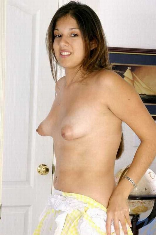 Smiling Amateur Brute With Puffy Nipples