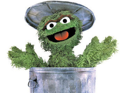 Most Popular Sesame Street Character Oscar The Grouch