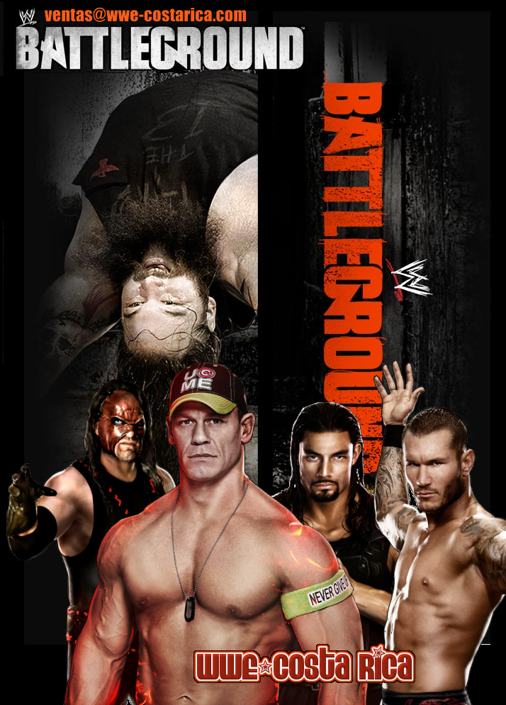 BATTLEGROUND 2014 a la venta en dvd!