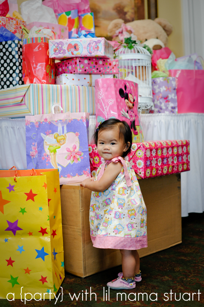 a day with lil mama stuart Colorful Owl 1st Birthday Party