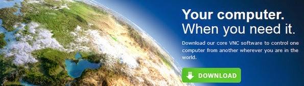RealVNC remote desktop access application