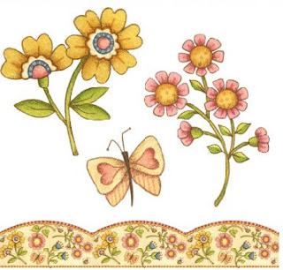 Imprimir flores country