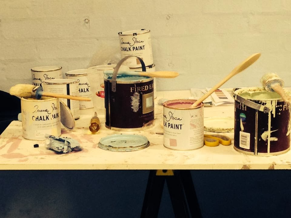 The paint workshop