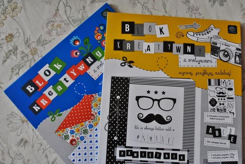 Inspiracje #1 | Bloki kreatywne z Biedronki