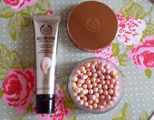 Body Shop All in one BB Cream & Brush on Radiance