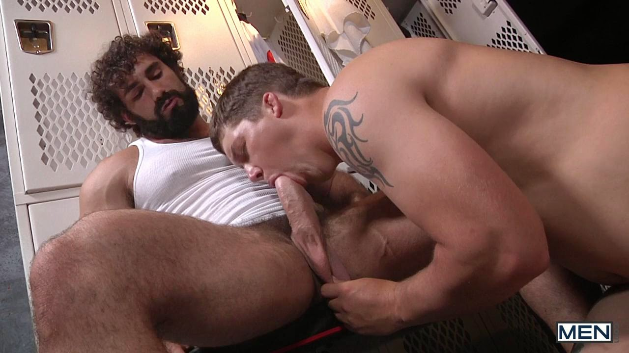 Hot gay scene friends sucking amp