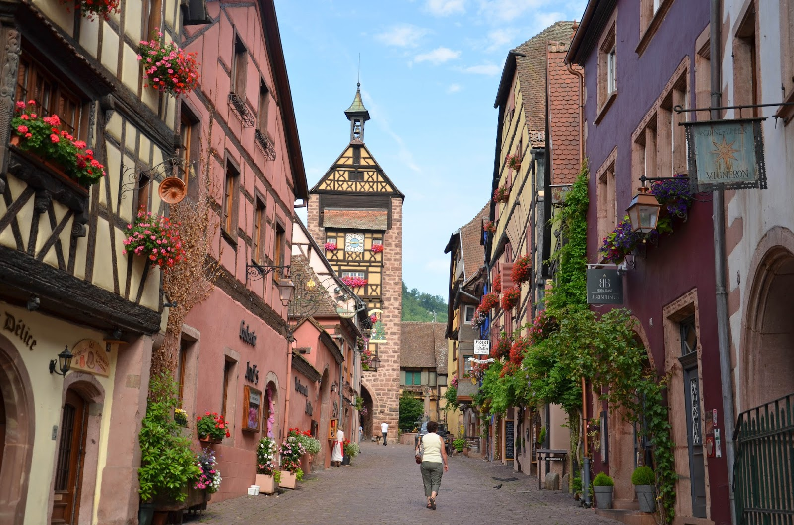 we took the road less traveled riquewihr france alsace wine region