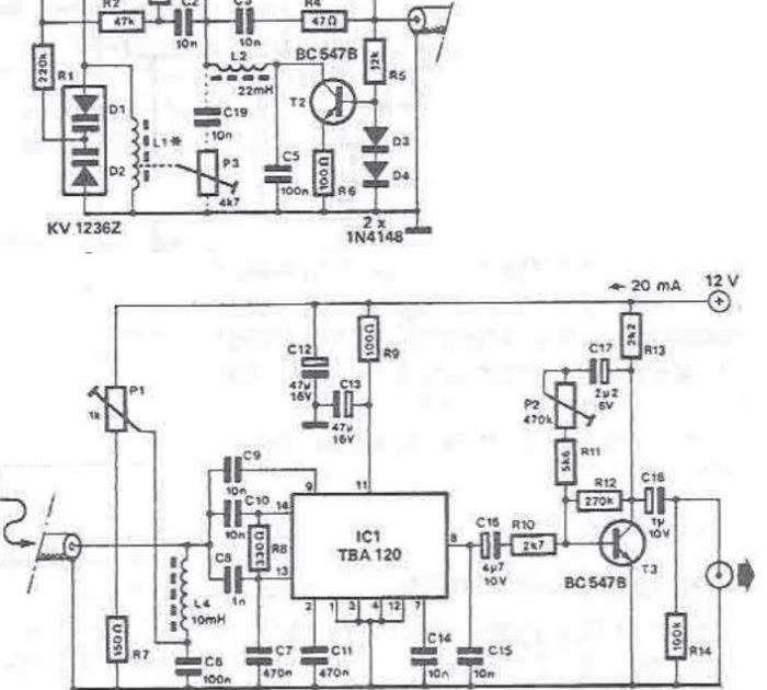 tba120 r u00e9cepteur radio pour les moyennes et longues bandes rf