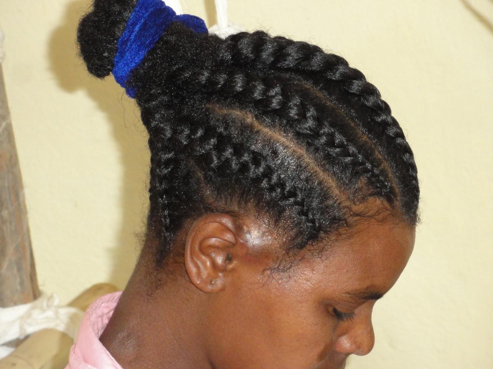 Ethiopian Braid Hairstyles