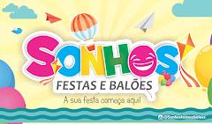 SONHOS FESTAS  E BALÕES