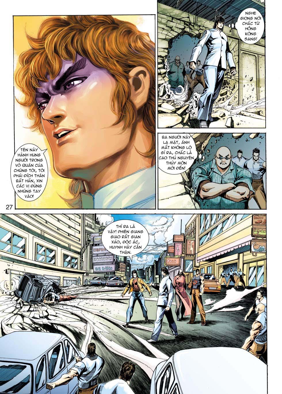 Tân Tác Long Hổ Môn chap 343 - Trang 27