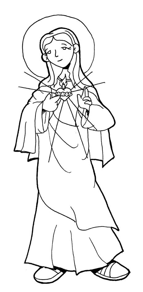Virgen María, Ruega por Nosotros ®: INMACULADO CORAZÓN DE MARÍA ...