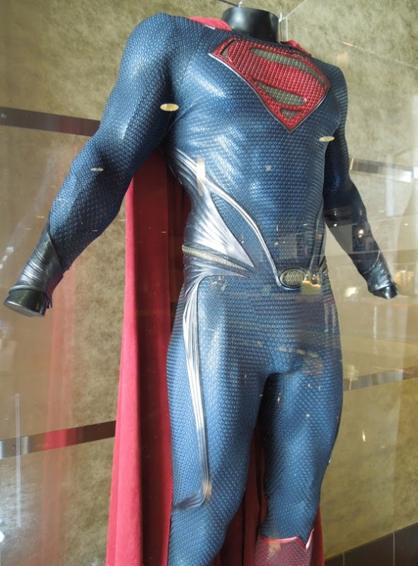 Man of Steel Superman suit detail