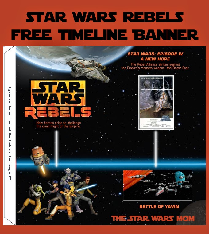 Star Wars Rebels Timeline Banner Free Printable