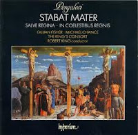 Pergolesi Stabat Mater - King/Fisher