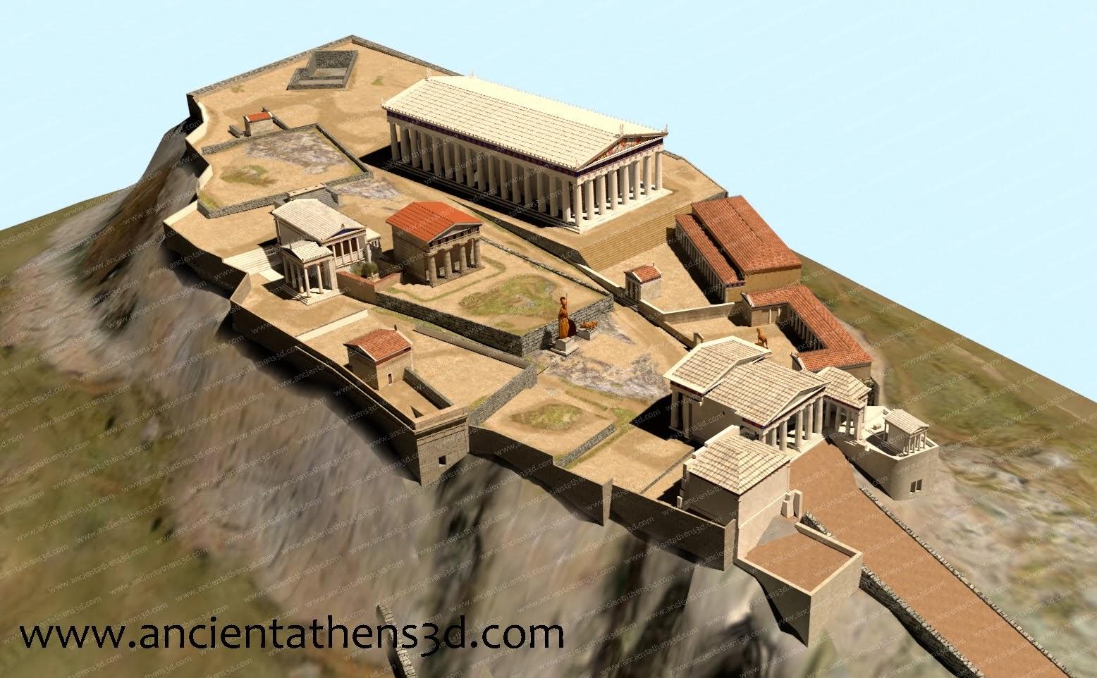 Αρχαία Αθήνα 3D