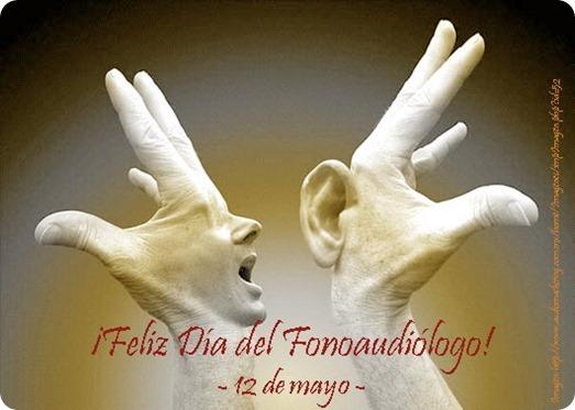 Feliz Dia De Gracias >> Día de la Fonoaudiología - 12 de Mayo - Imagenes y Carteles