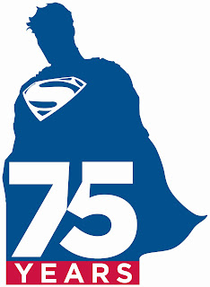 The Superman 75th Anniversary Logo