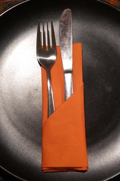 fold servietter til bestik