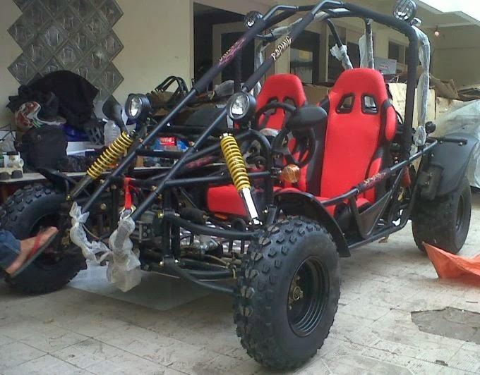 Terabas Semua Medan Jalan Dengan 5 Modifikasi Motor ATV