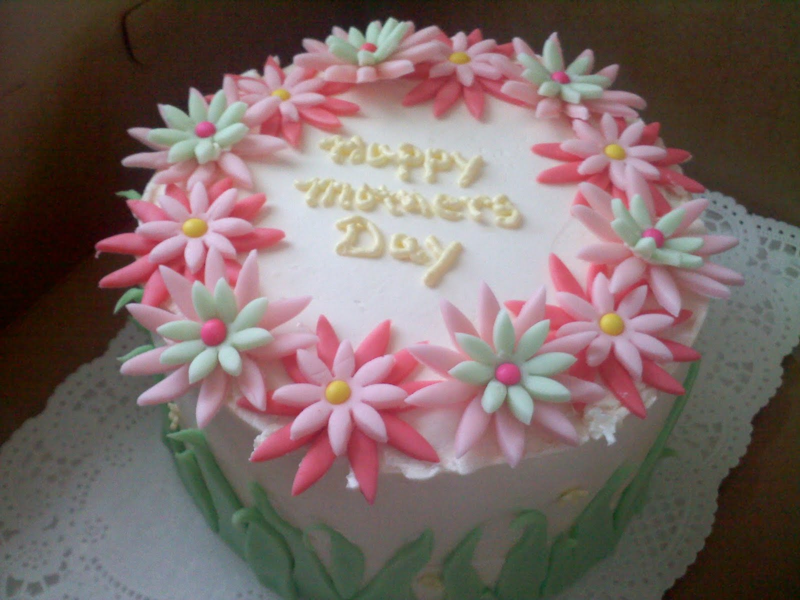 Best Cake Designs For Mother : Pinky Promise Cakes: Mothers day cake.