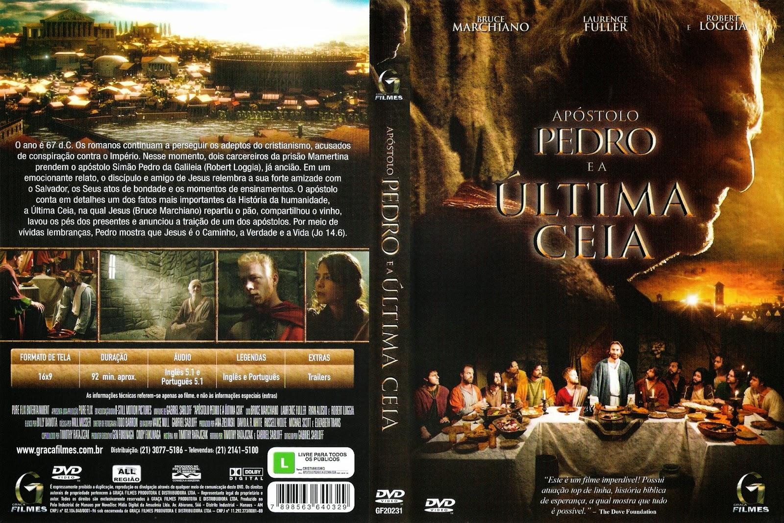 FILME ONLINE APOSTOLO PEDRO E A ÚTIMA CEIA