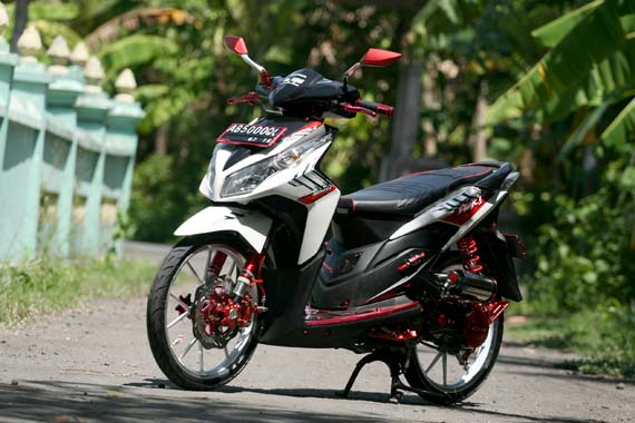 Modifikasi Honda Vario Techno Elegan title=