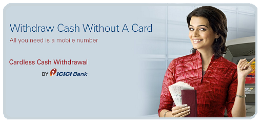 icici bank cardless withdrawal