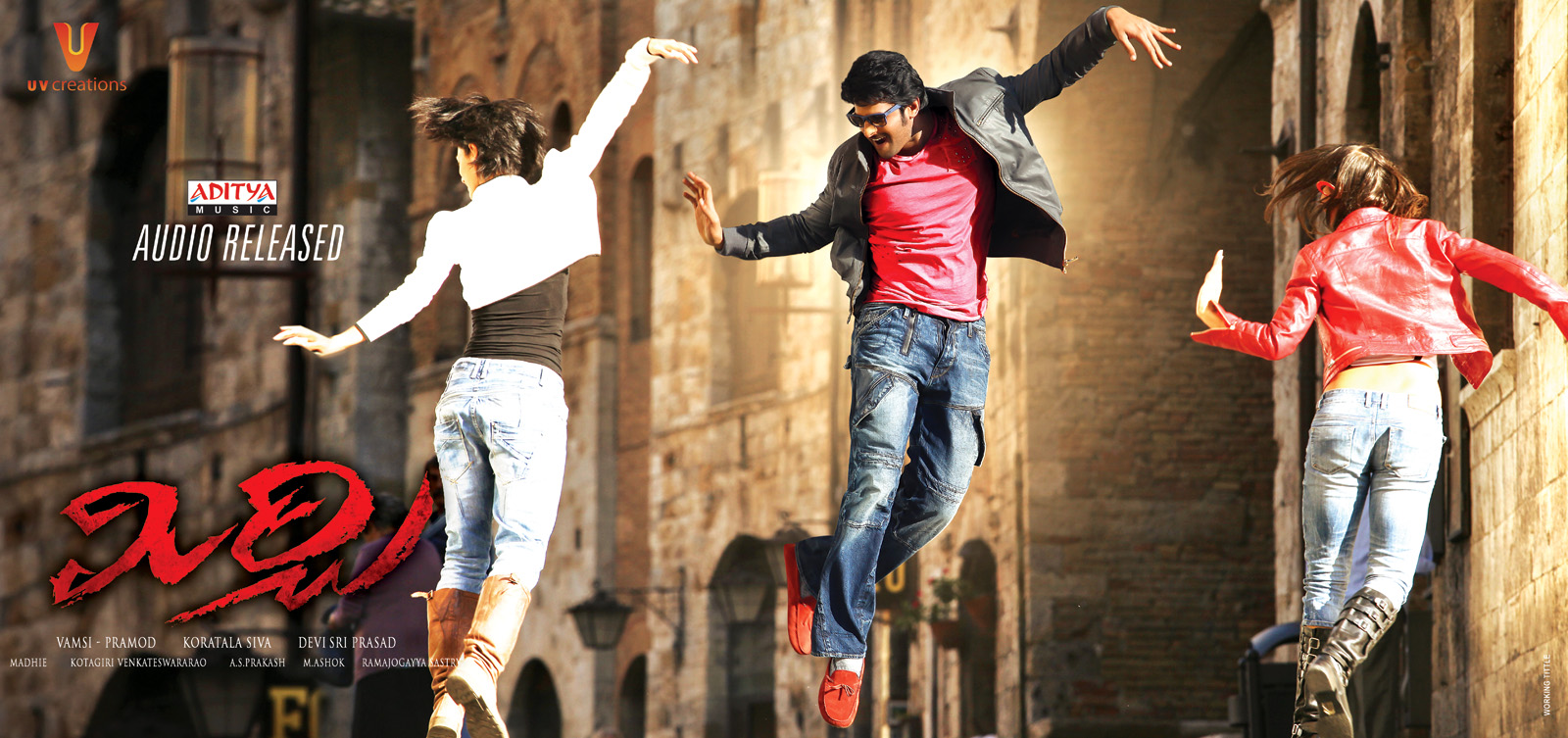 mirchi audio release posters