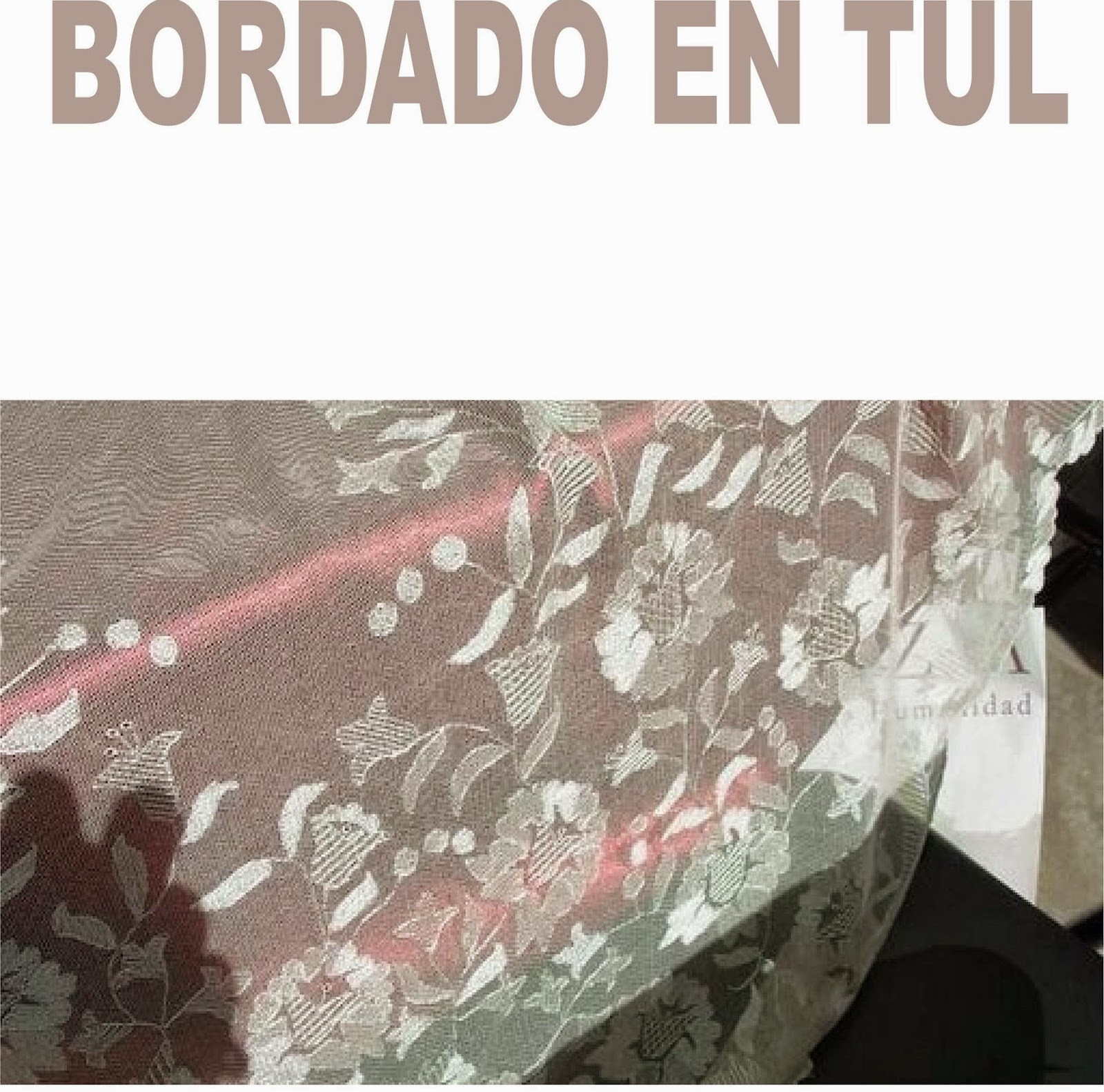 BORDADOS EN TUL