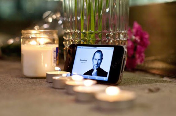 Ex-Apple CEO Steve Jobs, who died Wednesday after a long illness at the age ...