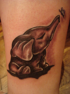 elephant tattoo trend