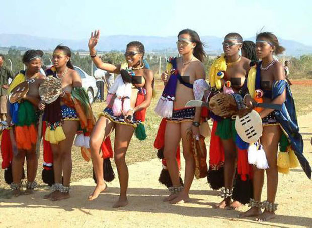 Reed Dance Festival in Swaziland