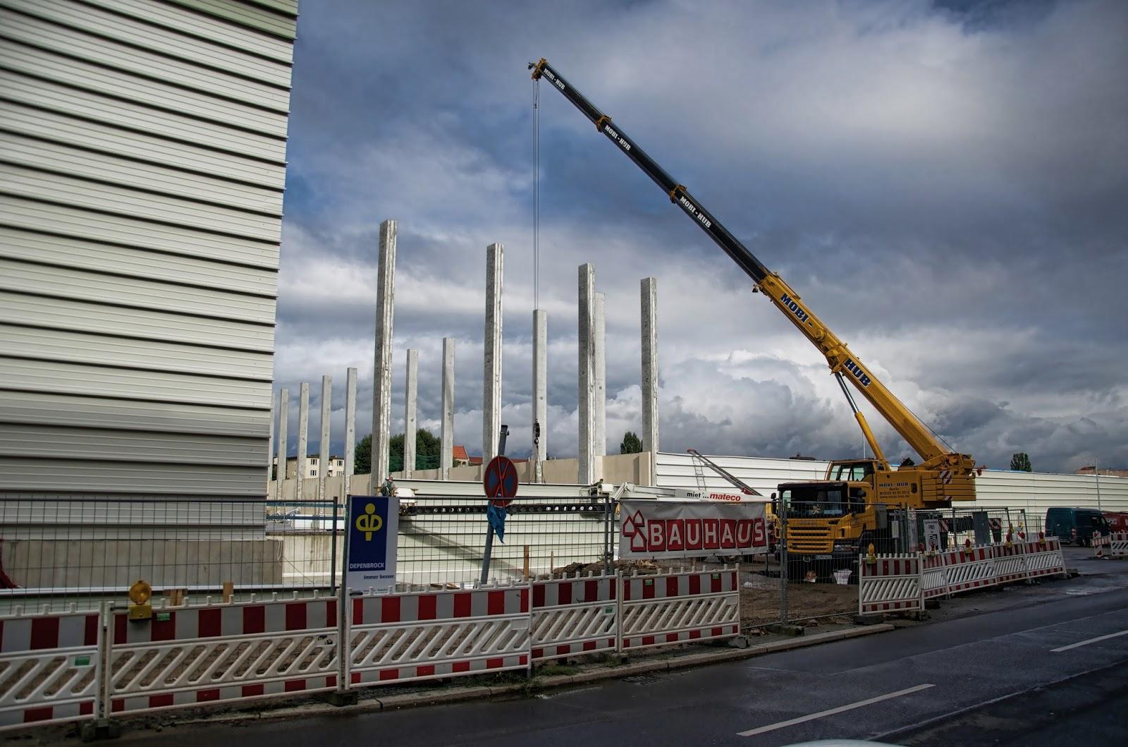 Bauhaus Halensee berliner baustellen 0101 baustelle neubau bauhaus fachzentrum