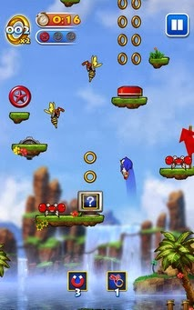 Sonic Jump apk screenshoot