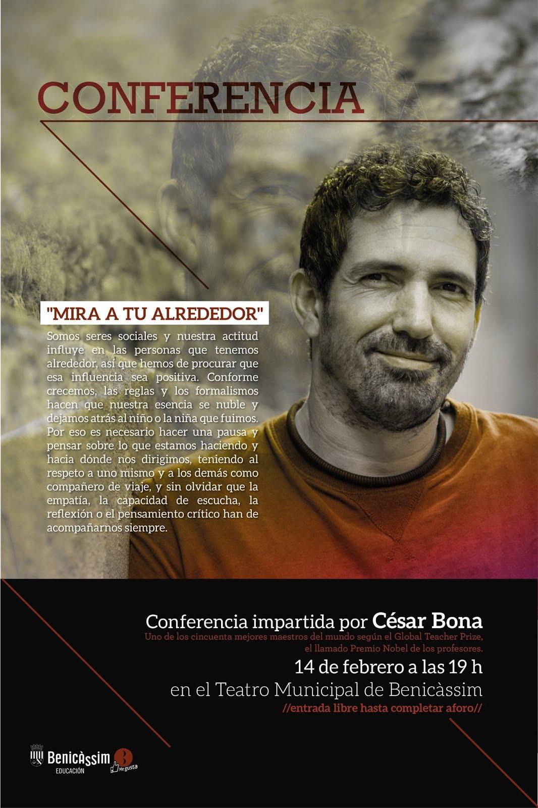 Conferència Cèsar Bona