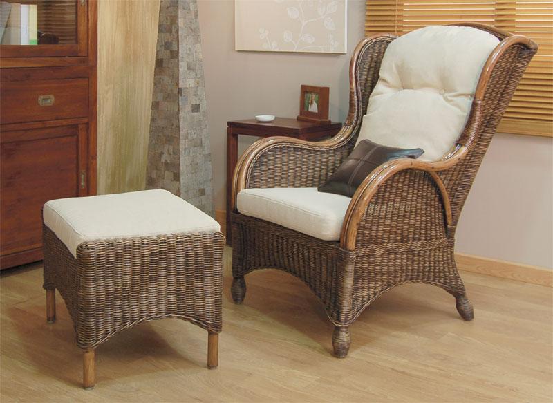La web de la decoracion y el mueble en la red sillones relax rattan - Butacas de mimbre ...