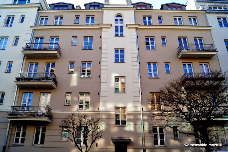 Warszawa Ochota kamienice lata 30 redakcja Polityki kamienica