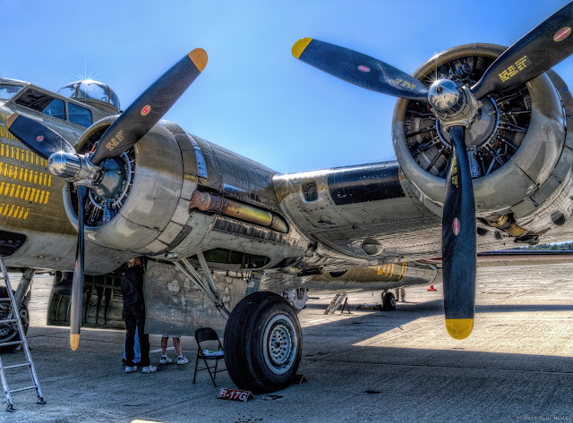 B-17 Engines HDR