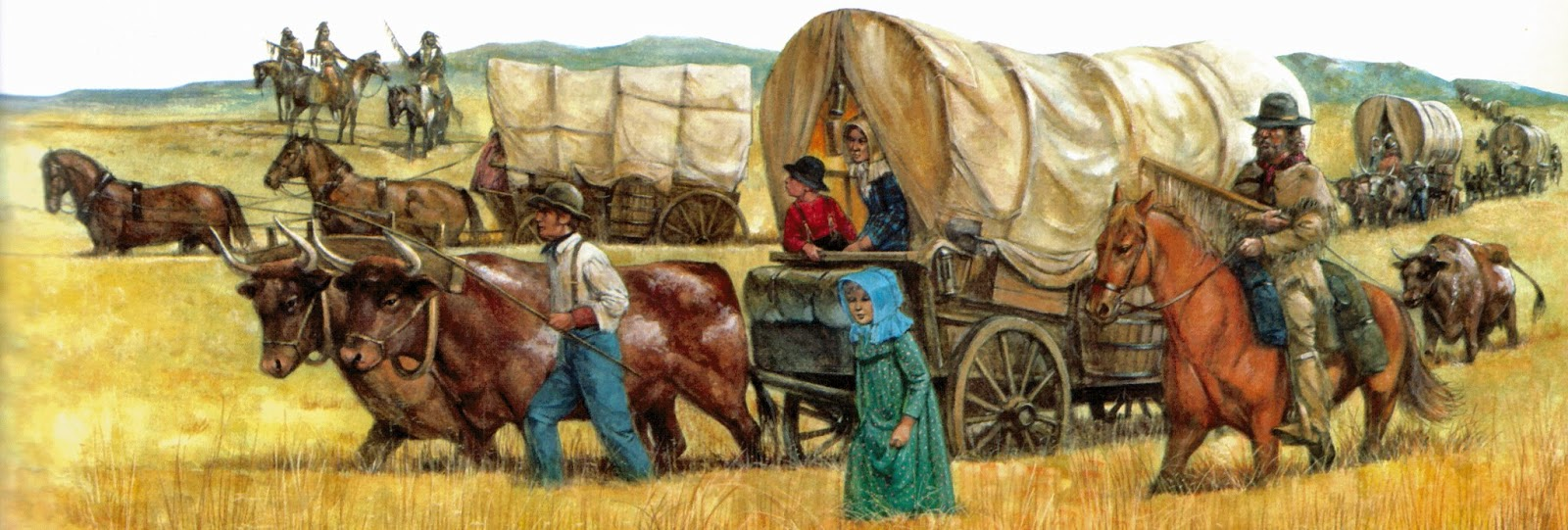 the pilgrimgram hit the trail Wagon Clip Art Horse and Wagon Clip Art