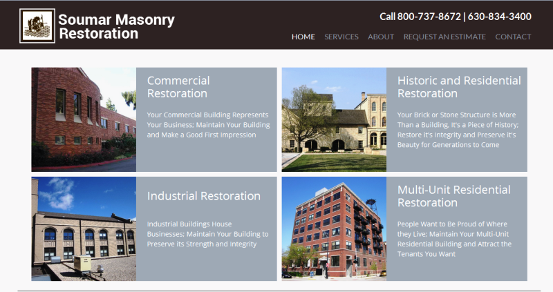 reputable provider of masonry restoration and repair services