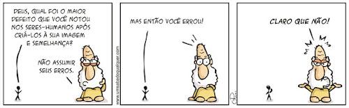 Tirinhas da Luna #38: 'Assuma seus erros' | Ordem da Fênix Brasileira