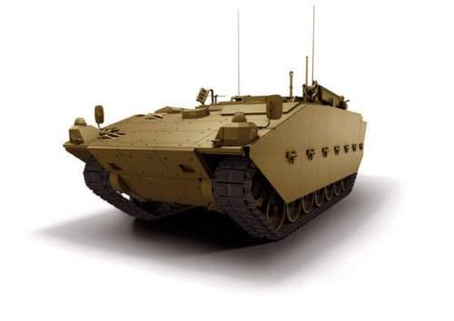 Dikembangkan untuk Angkatan Darat Inggris