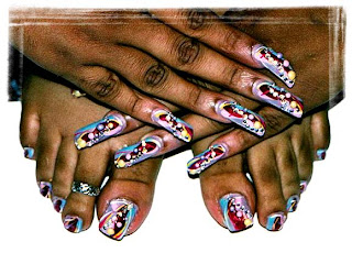 Nails design art by ericka nailsartshop prinsesfo Gallery